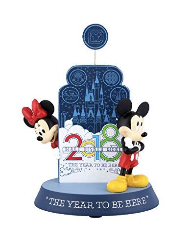 DisneyParks Walt Disney World 2018 Mickey Minnie Mouse Figurine Clip Frame by DisneyParks