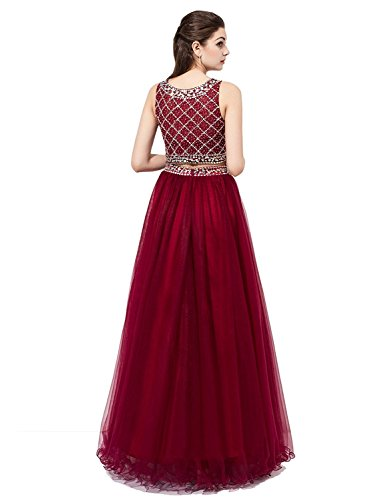 Butterfly Paradise Dresses Bridesmaid Red Long rRqrzHn