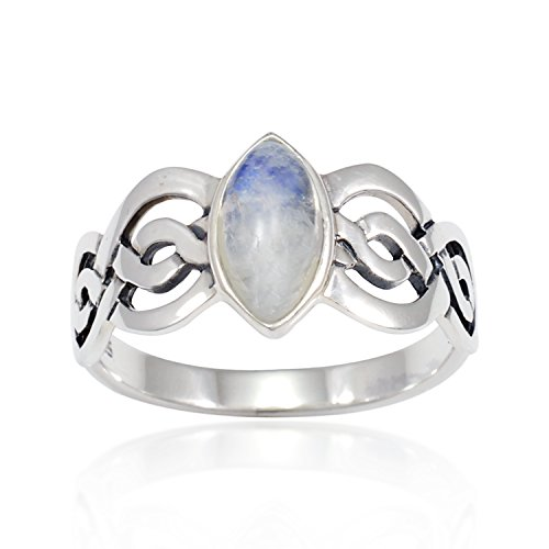 925-sterling-silver-genuine-moonstone-celtic-double-infinity-knot-band-ring-nickle-free-size-8