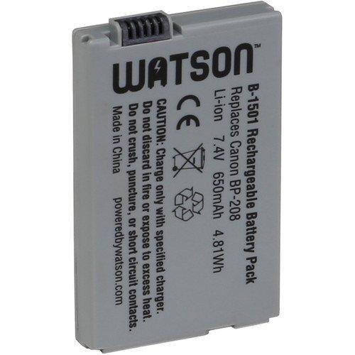 Watson BP-208 Lithium-Ion Battery Pack (7.4V, 650mAh) -Re...