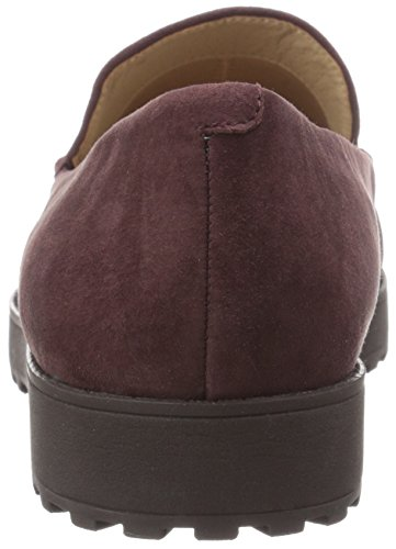 Easy Spirit Womens Margy Slip-on In Pelle Scamosciata Rosso Scuro