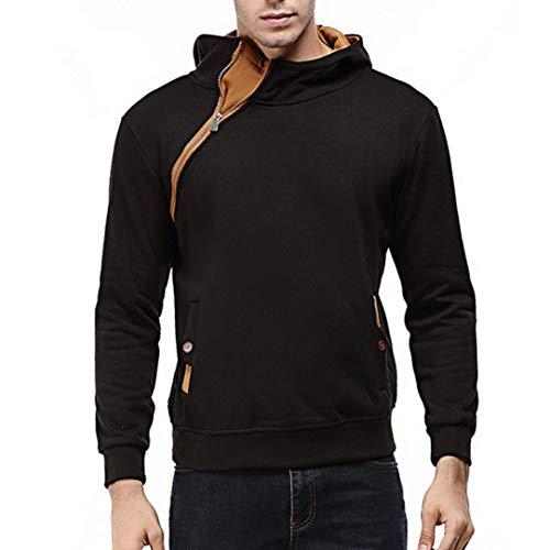 Palace Bustiers - SPE969 Men's Tops Long Sleeve Patchwork Hoodie Hooded Sweatshirt Jacket Coat Outwear