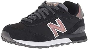 New Balance Kadın 515 Moda Ayakkabı, Siyah, 37-38