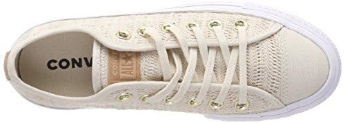 Converse Dame Cta'er Lift Ox Drivtømmer / Hvid Sneaker Weiß (drivtømmer / Drivtømmer / Hvid 248) bqVYSgUJ