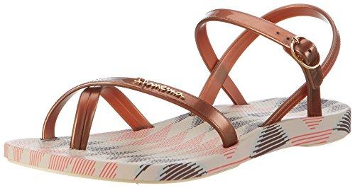 Ipanema Fashion Sand Iv Fem, Chanclas para Mujer Mehrfarbig (beige/bronze)