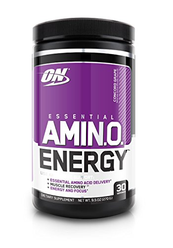 Optimum Nutrition  Amino Energy, Concord Grape, 30 Servings