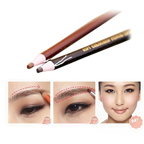Usstore 4PC Eyebrow Pencil Waterproof Natural Long lasting E