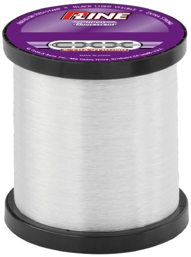 P-Line CXX-Xtra Strong High Visibility Bulk Fishing Spool (3000-Yard, 20-Pound, Clear Fluorescent)