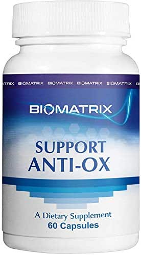 Support Anti-Ox (60 Capsules) - Antioxidant Supplement with CoQ10, Lipoic Acid, Selenium - High Bioavailability