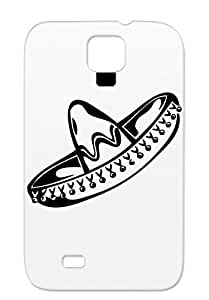 Fiesta Sombrero Symbols Shapes Cerveza Texas Mexico Mexican Hat Drink Party 5 De Mayo Black Scratch-free Cover Case For Sumsang Galaxy S4