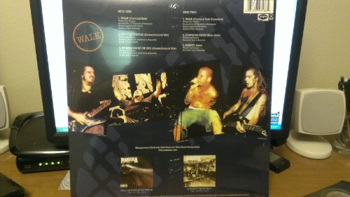 Pantera - Walk Ep Record Live and Remixes / Red and Black Vinyl Limited Edition of 2500 Pressings