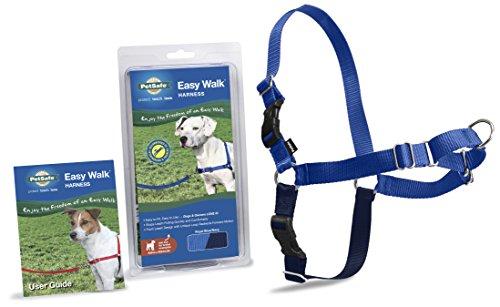 PetSafe Easy Walk Harness,  Small/Medium, ROYAL BLUE/NAVY BLUE for Dogs