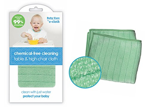 E-Cloth Baby Chemical-Free Water Only Cleaning Table & High Chair Cloth (Best Baby High Chair Uk)
