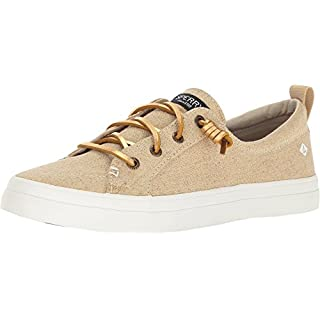 Sperry Women's, Crest Vibe Sneaker Gold Metallic 8.5 M