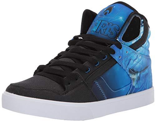 Osiris Men's Clone Skate Shoe, huit/Drank/Cyan, 12 M - Clearance Shoes Mens Skate