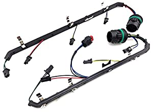 41 fl2k53rL._SX300_ amazon com 6 4l powerstroke diesel ford 6 4 fuel injector wiring fuel injector wiring harness at bayanpartner.co