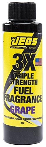 JEGS 63600 Fuel Fragrance Grape Scented 4 oz. Bottle Safe for All Internal Combu