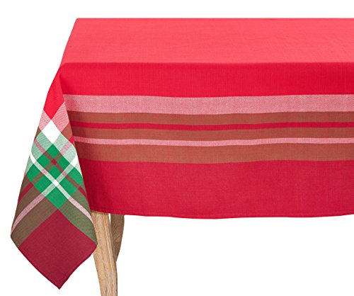 SARO LIFESTYLE 3365.R70S Aberdeen Collection 3365 Aberdeen Collection Tartan Design Tablecloth