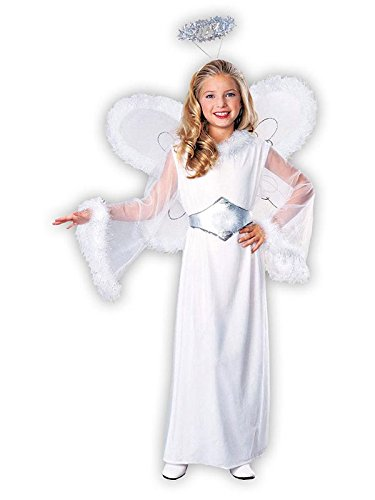 Feathered Fashions Child's Snow Angel Costume, Large -
