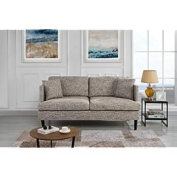 Amazon.com: benchcraft chento sofá en gris – 6280238 ...