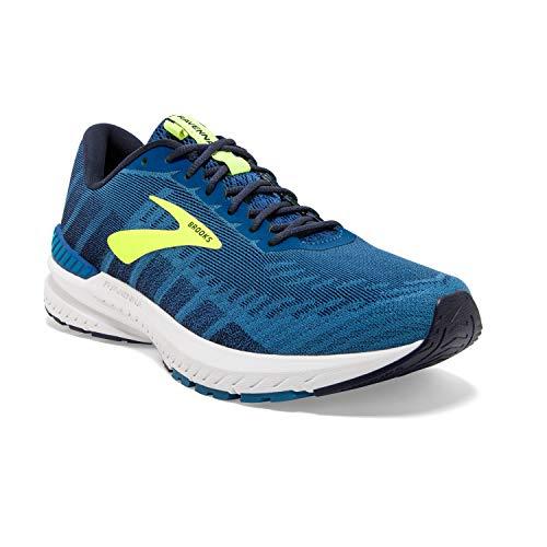 Brooks Mens Ravenna 10 Running Shoe - Blue/Navy/Nightlife - D - 11.5