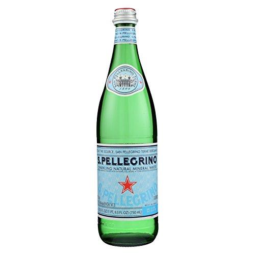 San Pellegrino Sparkling Mineral Water - Natural - Case of 12 - 750 ml by San Pellegrino