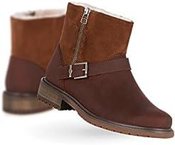 EMU Australia Roadside Womens Deluxe Wool Boot Waterproof Fashion in Oak