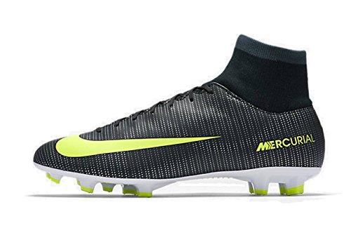 fútbol Verde Vi de Hombre FG Size Seaweed Mercurial Verde Volt Cr7 Hasta Nike Sintético Material Botas White para de DF Victory x8Wwaf
