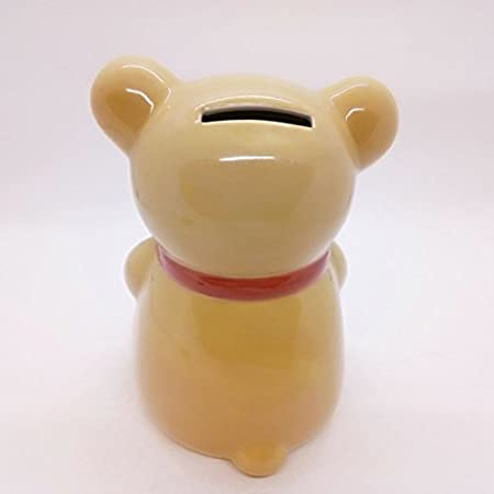 WitnyStore Piggy Bank Ceramic Cute Handmade Paint Coat Figurine Fancy Animal Decor Collect Coin Hight Quality Turtle Green