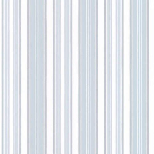 Stripe Light Wallpaper Blue (Norwall SD25660 Textured Stripe Wallpaper in Metallic Silver, Light Blue, White - 2 Rolls)