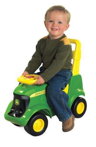 TOMY John Deere Sit 'N Scoot Activity Tractor