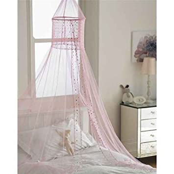 Popsicle PINK Voile Bed Canopie- (CTB066290) Country Club