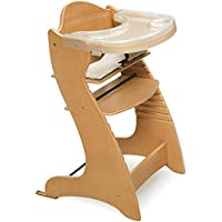 Durable and Best Wooden High Chair in Natural
