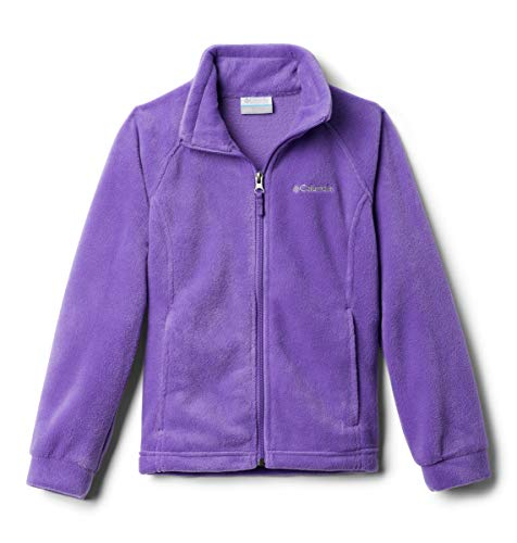Columbia girls Benton Springs Fleece Jacket, Grape Gum, 2T,Toddler Girls
