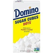Domino Premium Pure Cane Sugar Cubes Dots, 1 Pound Box