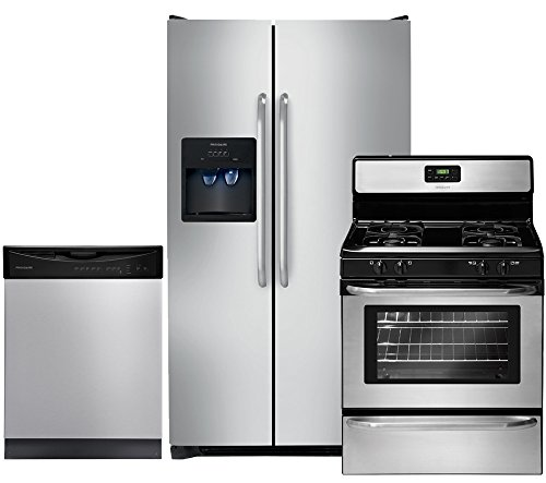 Frigidaire FFSS2614QS Refrigerator FFGF3047LS Freestanding product image
