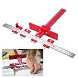 ASCENDAS Drill Guide Sleeve Cabinet Hardware Jig Drawer Pull Jig Wood Drilling Dowelling Hole Saw Master System