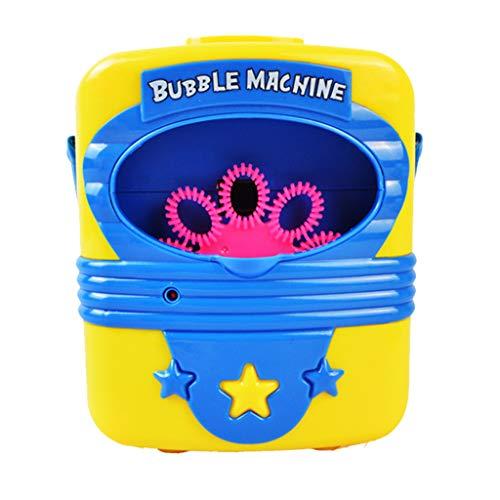 Bubble Maker Machine for Kids, Alonea Bubble Machine - Automatic Bubble Maker Music Electric Outdoor Bath Tub Play Toys for Kids Baby (Multicolor❤️)