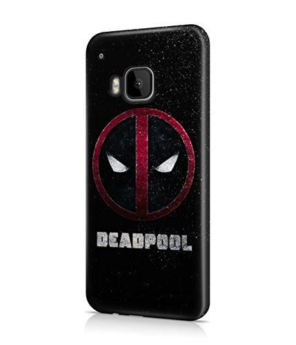 Deadpool Logo Plastic Snap-On Case Cover Shell For HTC One M9