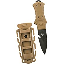 Tactical Full Tang Fixed Blade Knife with Nylon Sheath (Multiple Styles)