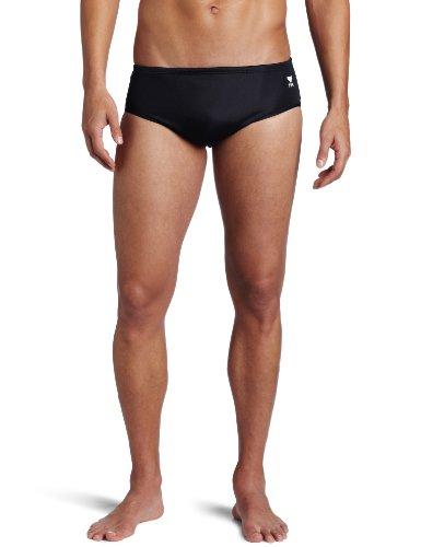 TYR Sport Men's 4' Nylon Trainer-A Swim Suit,Black,32