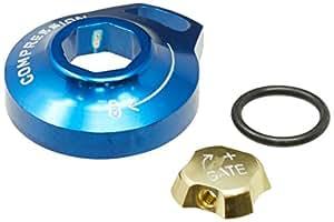 Rockshox SID- RLT/Reba/Revelation RLT - Dial de compresión de Motion Control (aluminio), color gris