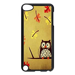 Unique Phone Case Design 1Cute Owl,Owl You Need is Love- FOR Ipod Touch 5