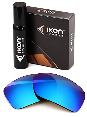Polarized Ikon Iridium Replacement Lenses For Von Zipper Decco Sunglasses - Ice - Lens Zipper Von