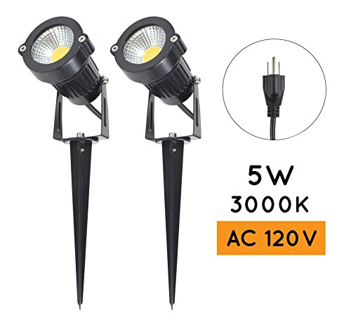 120 Volt Led Garden Lights