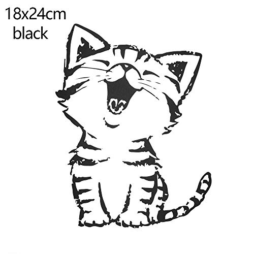 Logo Print Khaki - Iron Patch - Cute Cat Kitty Cartoon Iron Patches T Shirt Dresses Decoration Heat Transfer Stickers Print On - Sticker Music Superman Patches Khaki Kids Cartoon Logo Evil Transfer Letters Jeans P