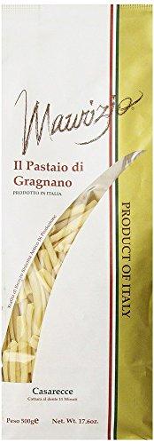 Maurizio - Italian Casarecce Pasta, (4)- 17.6 oz. Pkgs. by Maurizio
