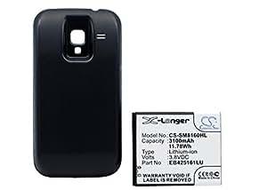 Bateria Samsung Galaxy Ace 2, GT-I8160, GT-I8160P Battery With Black , Li-ion, 3300 mAh
