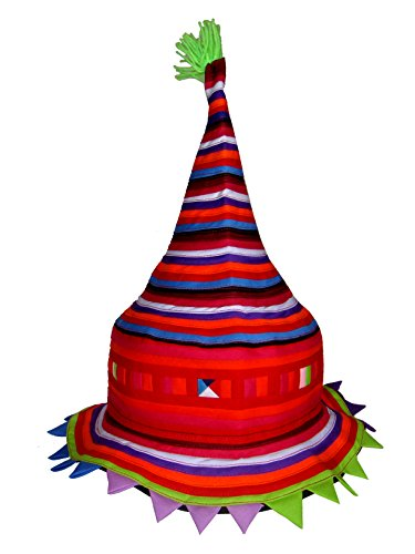 Tribal Hats Party Favors - Colorful Hat Accessories (Lisu 86) (Silly Hats)