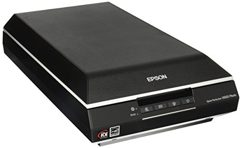 Epson Perfection V600 Flatbed Scanner - 48-bit Color - 16-bit Grayscale - USB